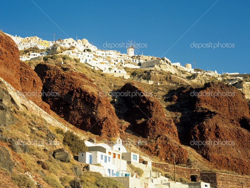 Oia santorini greece — Stock Photo #7081042