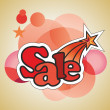 """Sale"" sticker — Stock Vector"