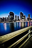 Brisbane city at night — Stock Photo