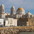 Stock Photo: Cathedral of Cadiz