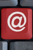 E-mail button — Stockfoto