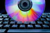Colorful CD — Stock Photo