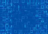Abstract background of mosaic blue tiles — Stock Photo