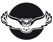 Own black logo — Stock Vector
