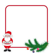 Frame for New Year or Christmas — Stock Vector