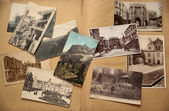 Old postcards. — Stock Photo