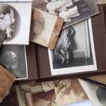Old photos and album. — Stock Photo #7284228