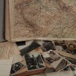 Old photos,postcards and atlas. — Stock Photo #7313526