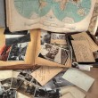 Old photos,postcards,letters and atlas. — Stock Photo #7329166