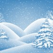 Royalty-Free Stock 矢量图片: Winter background