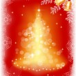 Stock vektor: Christmas background