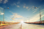 Photo of the Yellow River bridge, China — Stock Photo
