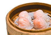 Isolation of traditional Chinese cuisine dumplings — Stock Photo