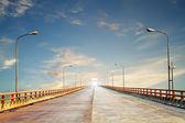 Photo of the Yellow River bridge, China — Stock Photo