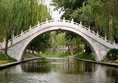 Bridge of Zizhu park, Beijing, China — Stock Photo