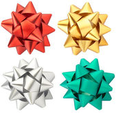 Bow collection isolated — Stock Photo