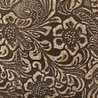 Leather floral - Stock Photo