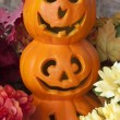 Royalty-Free Stock Photo: Decorative Jack-o-Lanterns