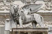 Piazza delle Erbe a Verona — Stock Photo