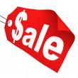 Stockfoto: Sale tag