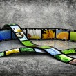 Film with images - Stockfoto