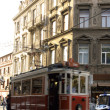 Stock Photo: Beyoglu, Nostalgic Cable Car