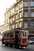 Beyoglu, Nostalgic Cable Car — Stock Photo