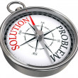Solution problem concept compass — Stock Photo #7301685