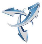 стрелок 3d веб курсоры — Cтоковый вектор