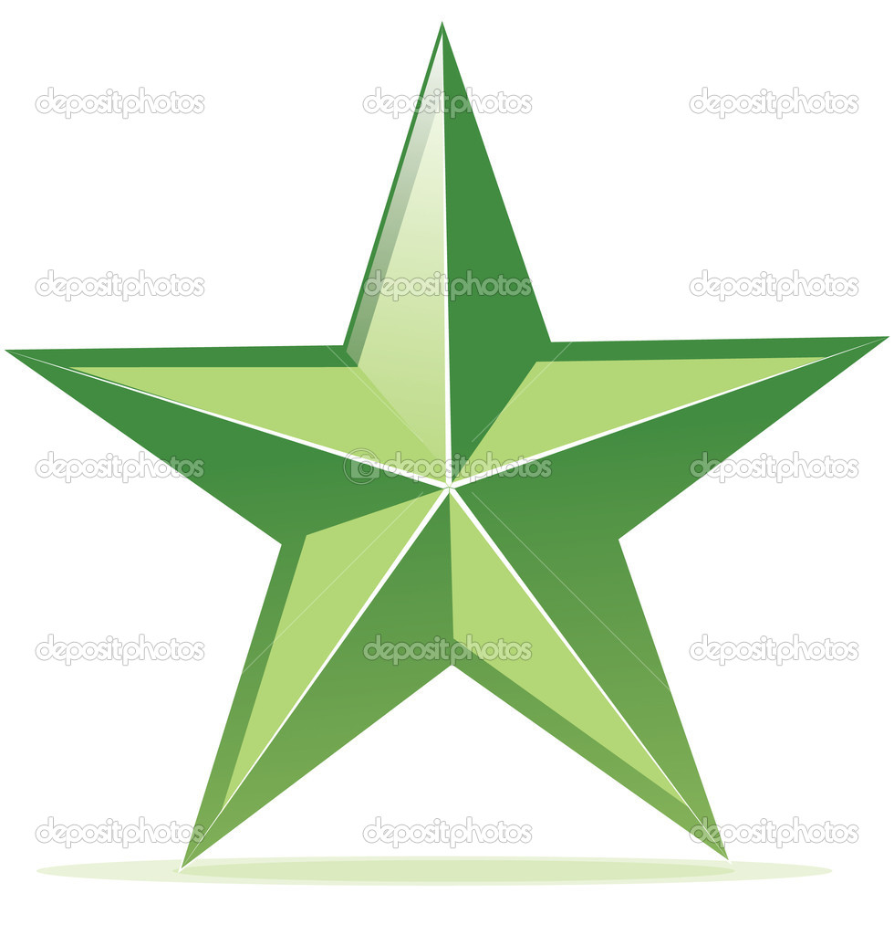 vector icon of glossy green star stock vector chuhail. Black Bedroom Furniture Sets. Home Design Ideas