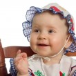 Stock Photo: Smiling baby.