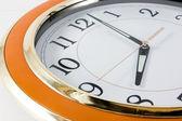 Close-up of wall clock. — Stock Photo