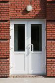 Plastic doors. — Stock Photo