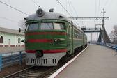 Suburban train. — Stock Photo