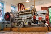 Diesel-generator set. — Stock Photo