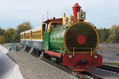 The children's railway. — Stock Photo