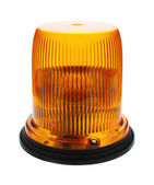 Red flashing beacon. — Stock Photo