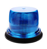 Blue flashing beacon. — Stock Photo