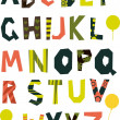 English alphabet for children — Stok Vektör #6900811