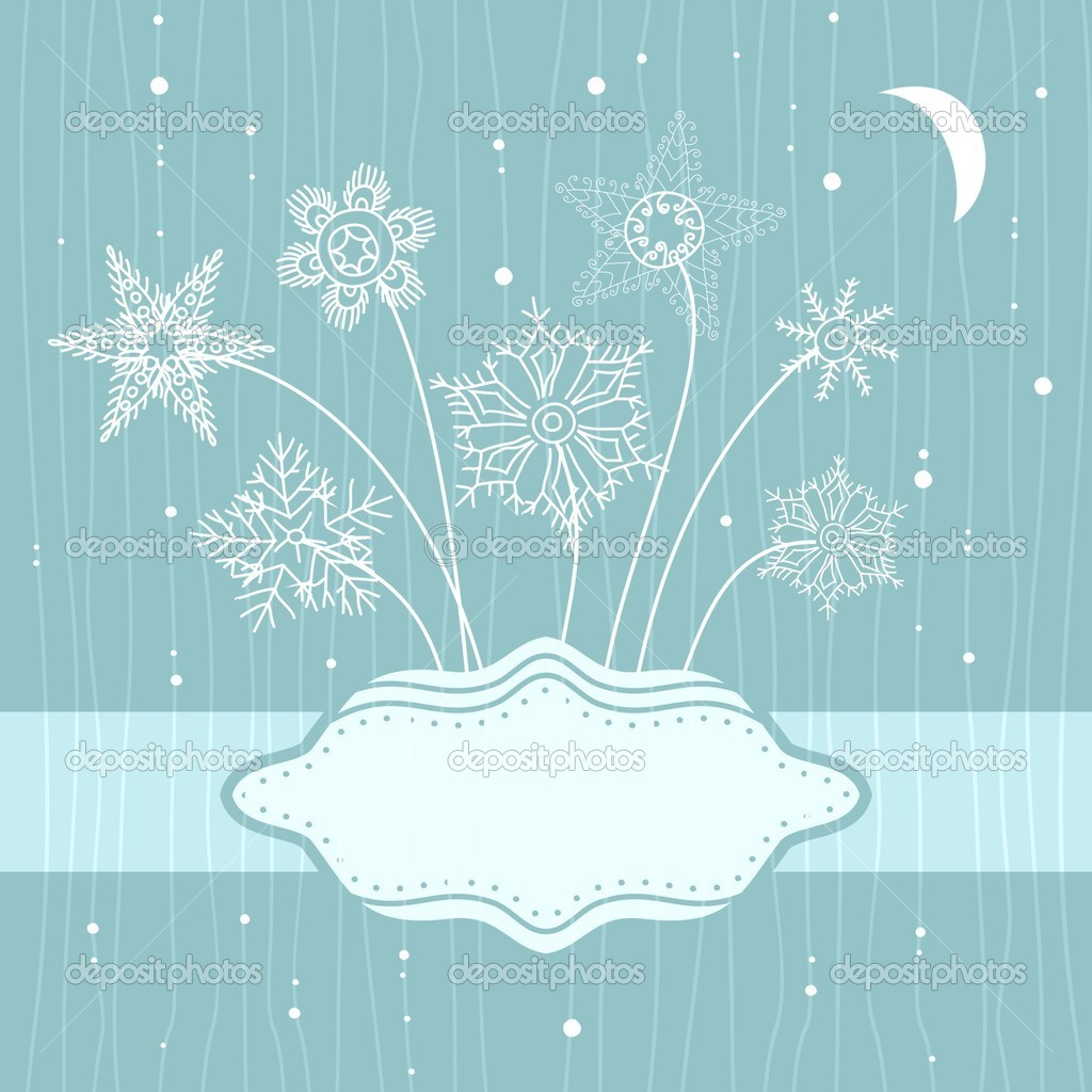Xmas card  Stock Vector #6900896