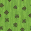 Grass and flower seamless pattern - Vettoriali Stock 