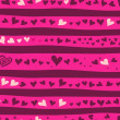 Seamless love background — Imagen vectorial