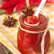Chili confiture. — Stock Photo