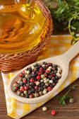Colorful peppercorns. — Stock Photo