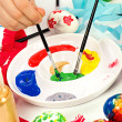 Brushes and paints — Stock Photo #6950467