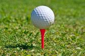 Golfboll — Stockfoto