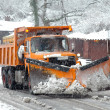 Snow Plow — Stock Photo