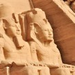 Abu Simbel Great Temple in Egypt - Stock Photo