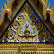 Stock Photo: Thailand's Temple's Roof Detail