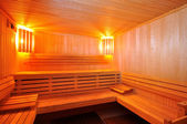 Sauna Cabin — Stock Photo